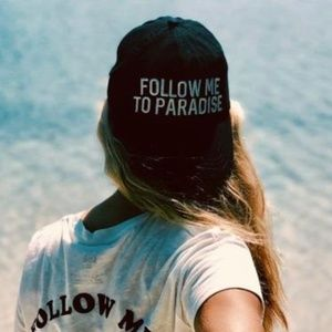 "BILLABONG ""Follow Me To Paradise"" Black Hat"